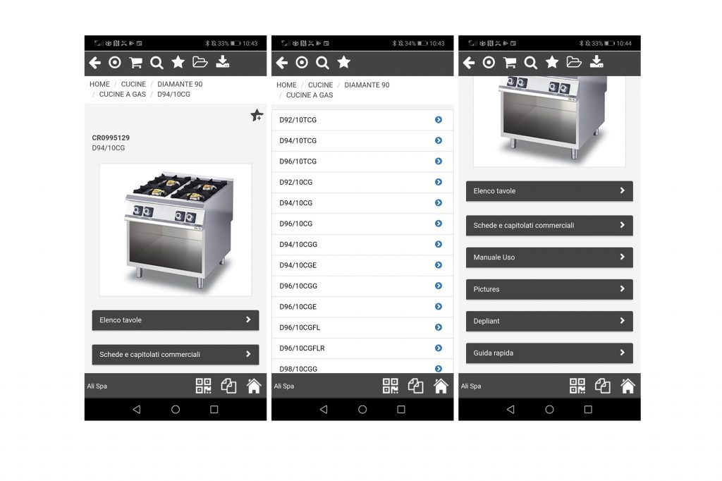 documentazione tecnica olis app